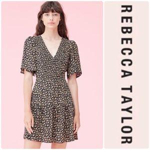 Rebecca Taylor Louisa floral print silk dress